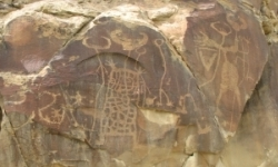 Wind River petroglyphs